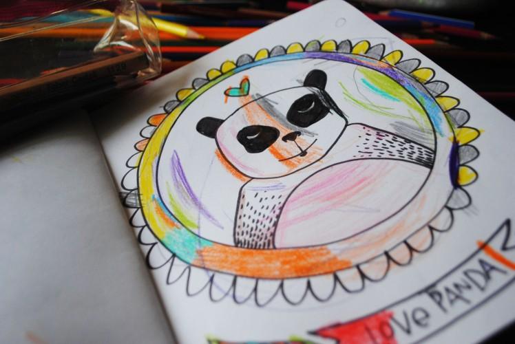 Cahier de coloriage et de dessin- MaDe en couleur Le blog 3
