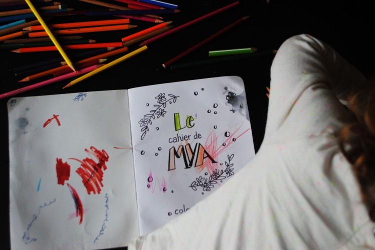 Cahier de coloriage et de dessin- MaDe en couleur Le blog 5
