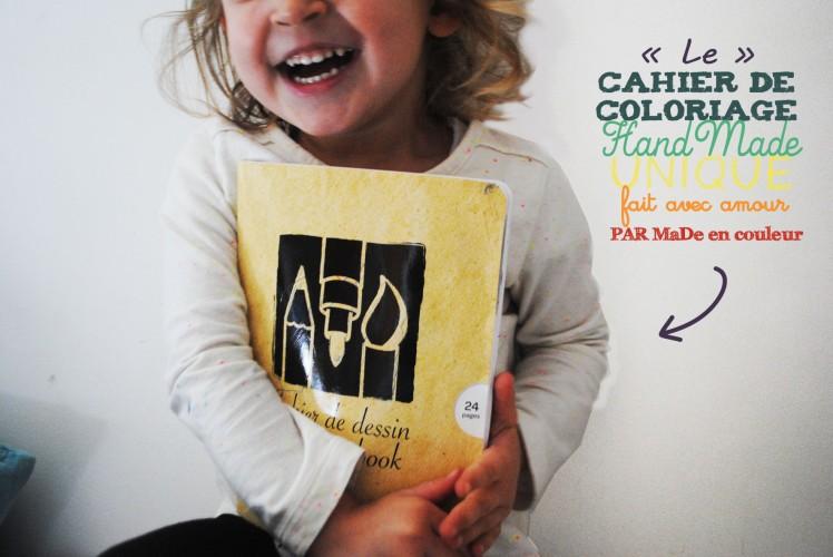 Cahier de coloriage et de dessin- MaDe en couleur Le blog 6