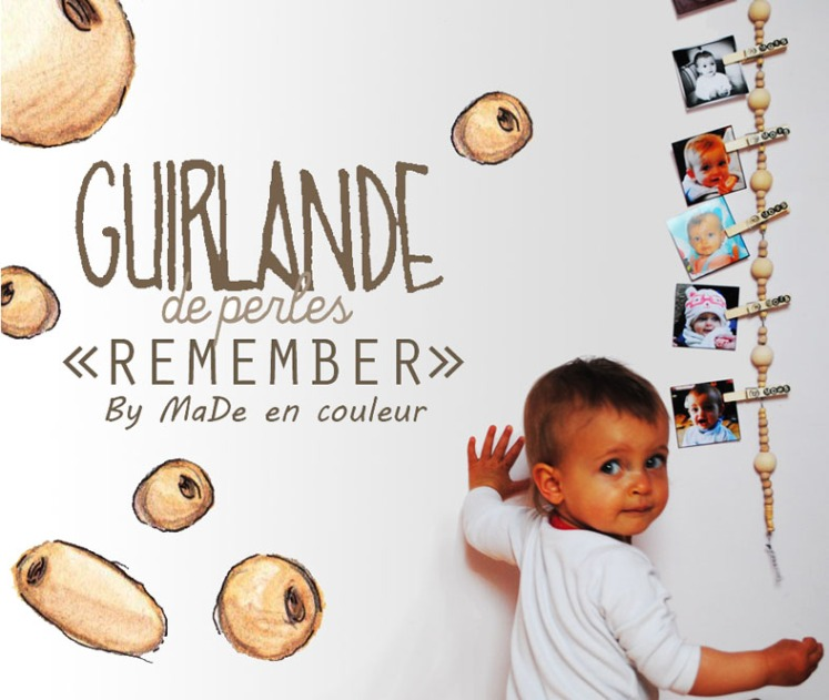 Guirlande de perle Remember DIY - Blog MaDe en couleur 6