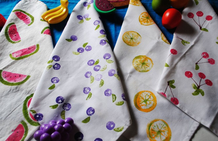 Photos DIY Serviettes Tutti Fruity- Blog MaDe en couleur © 2015 (10)