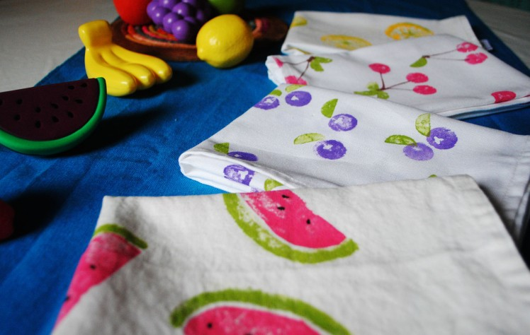 Photos DIY Serviettes Tutti Fruity- Blog MaDe en couleur © 2015 (11)