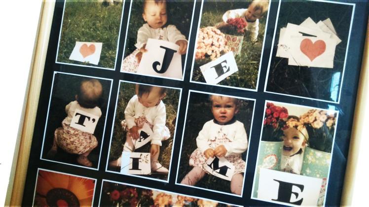 papa, je t'aime- DIY cadre photo personnalisé - Blog MaDe en couleur 2