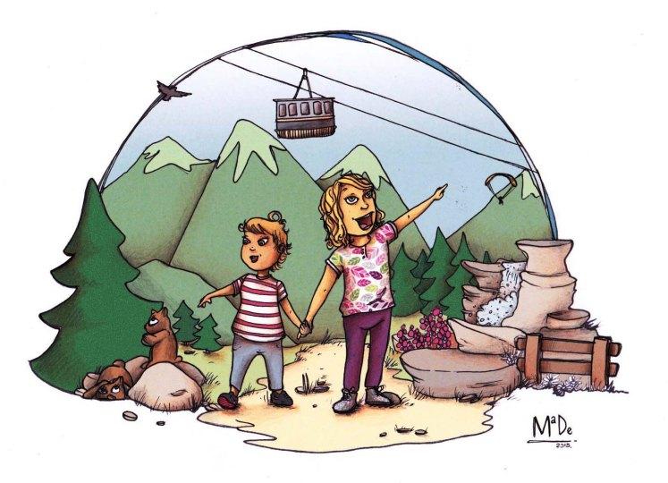 La montagne en été, Morzine - MaDe en couleur le Blog - Copyright 2015