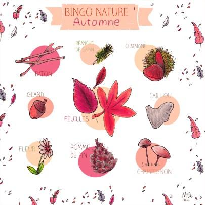 BINGO NATURE - Automne