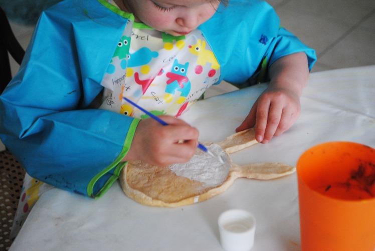 coquetier lapin - pâte à sel 12 MaDe en couleur le blog - copyright 2016