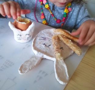 coquetier lapin - pâte à sel 14 MaDe en couleur le blog - copyright 2016