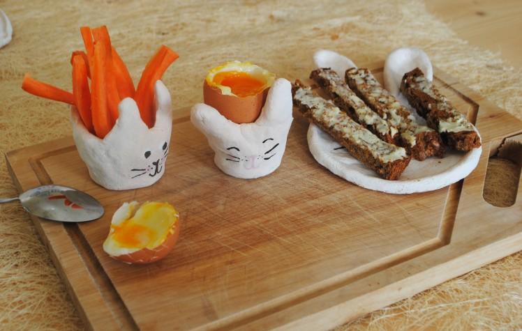 coquetier lapin - pâte à sel 2 MaDe en couleur le blog - copyright 2016
