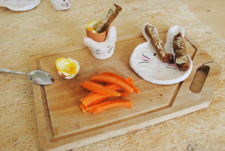 coquetier lapin - pâte à sel MaDe en couleur le blog - copyright 2016